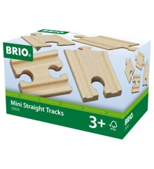 BRIO - Lige skinner, mini (33333)