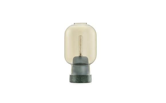 Normann Copenhagen - Amp Table Lamp - Gold/Green (502121)