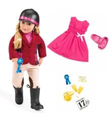 Our Generation - Lily Anna dukke med ekstra tøj