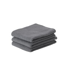 Zone Denmark - Kitchen Cloth 3 pcs - Cool Grey (330410)