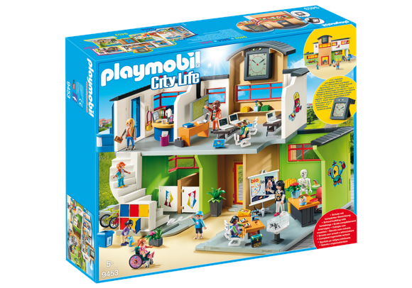 Playmobil - Furnished School Building (9453)