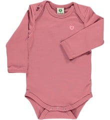 Småfolk - Organic Basic Longsleved Body - Mesa Rose