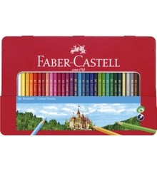 Faber-Castell - Color pencils hexagonal tin 36 pcs (115886)