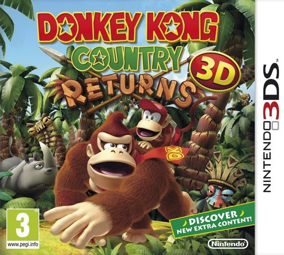 Donkey Kong Country Returns 3D (Select)