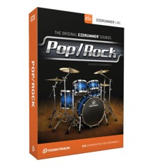 Toontrack - EZX Pop/Rock - Udvidelses Pakke Til EZdrummer (DOWNLOAD)