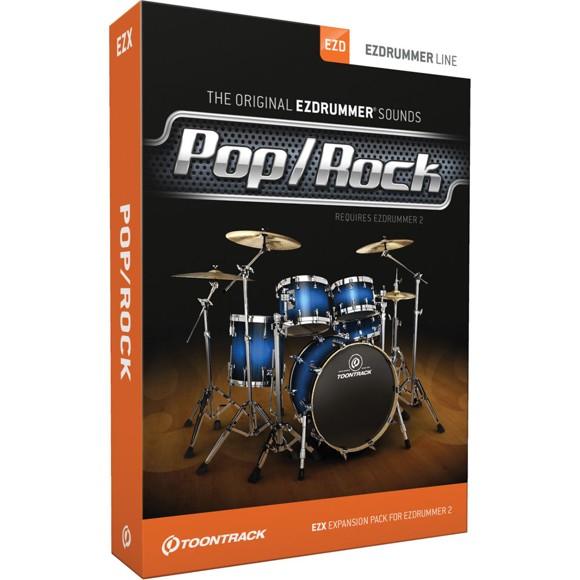 Toontrack - EZX Pop/Rock - Udvidelses Pakke Til EZdrummer (DOWNLOAD)