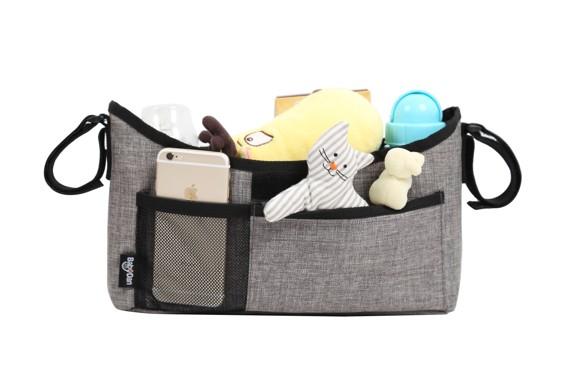 Baby Dan - Stroller Organizer - Luxury Grey