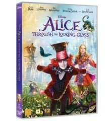 Alice through the looking glass/Alice i Eventyrland: Bag spejlet - DVD
