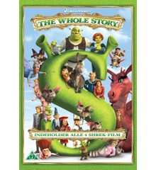 Shrek 1-4 Box (4 disc) - DVD