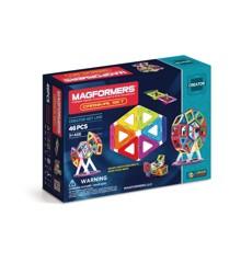 Magformers - Rainbow Carnival Set, 46 pc (63074)