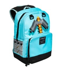 "Minecraft 17"" Diamond Pickaxe Backpack"