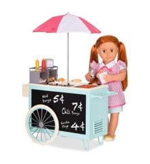 Our Generation - Retro Hot Dog Cart (767040)