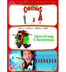 All I Want For Christmas/Surviving Christmas/Scrooged (Triple Pack) - DVD