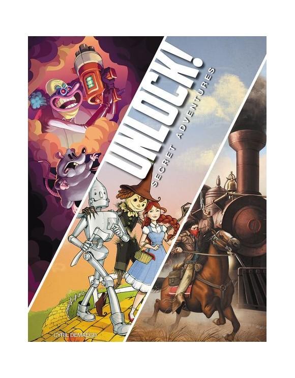 Unlock 3! - Secret Adventures (English) (AMDUNLOCK03)