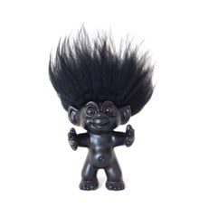 Good Luck Troll - Gjøl Trold 12 cm. - Black/Black (93024)