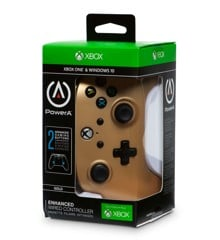 PowerA Xbox One Enhanced Wired - Gold