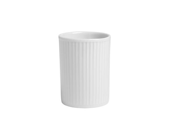 Pillivuyt - Plissé Cup 20 cl - White (114220)