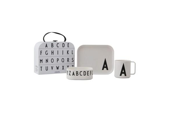 Design Letters - Gaveæske Tritan Spisesæt - A