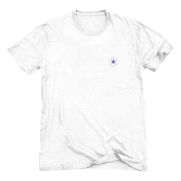Kaupa Converse All Star Chuck Taylor Left Chest Patch Mens T
