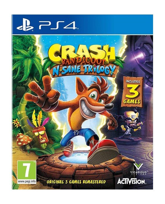 Crash Bandicoot - N'Sane Trilogy Remastered V2
