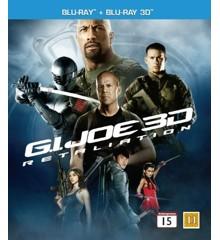 G.I. Joe 2: Gengældelsen (3D Blu-Ray)