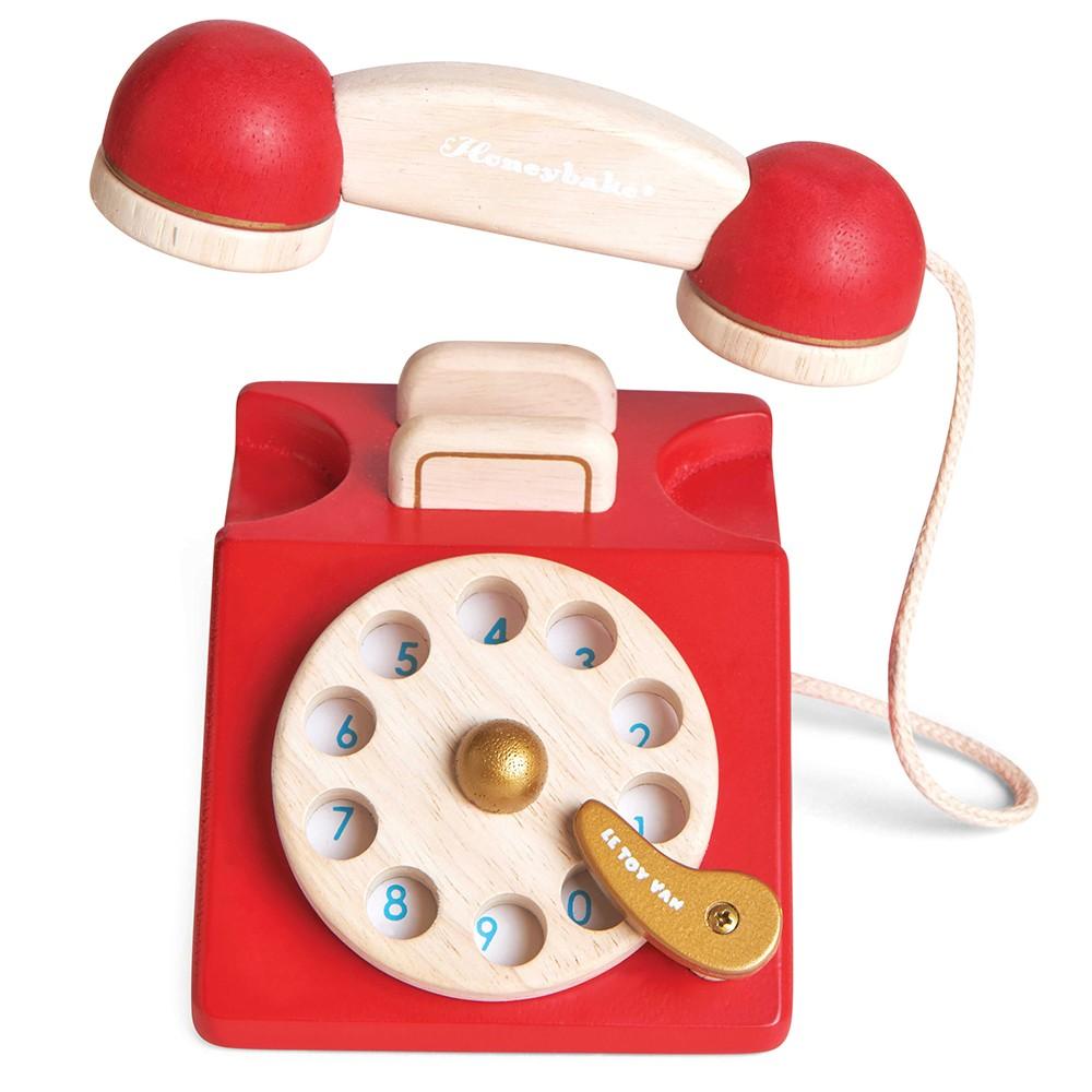 Le Toy Van - Vintage Holz Speiltelefon (LTV323)