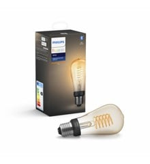 ​Philips Hue - E27 Filament ST64 - White  New Bluetooth Version