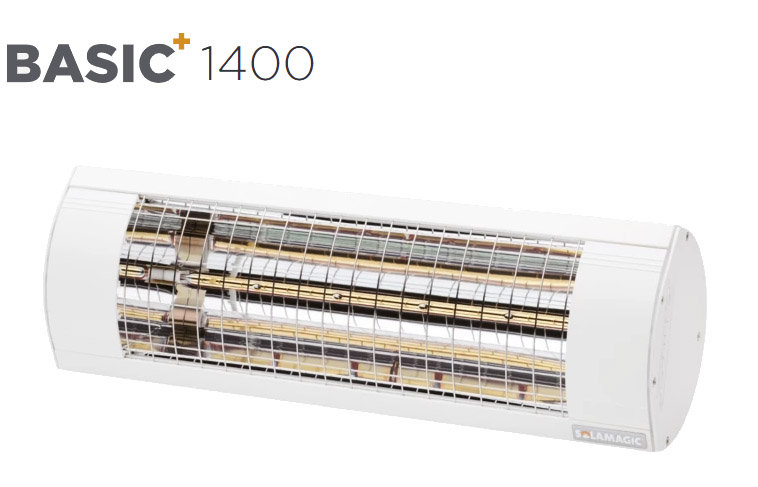 Solamagic - 1400 BASIC+  Patio Heater  - White