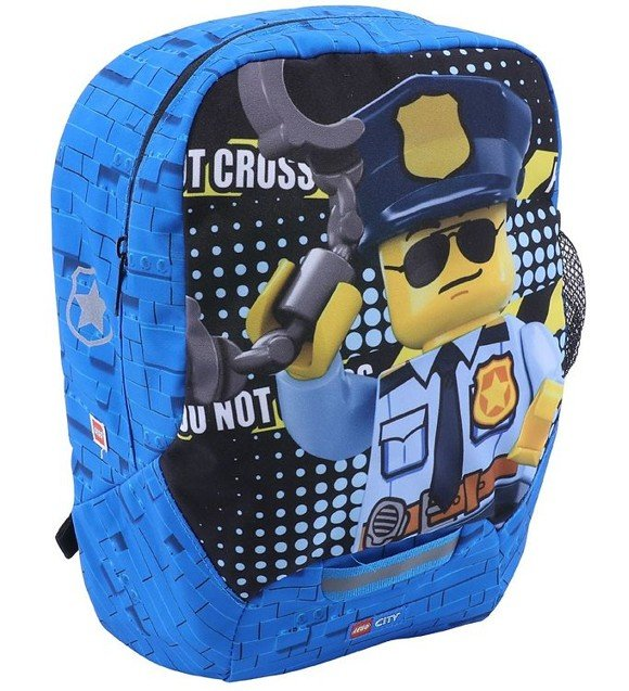 LEGO - Kindergarten Backpack - CITY - Police Cop (10030-2003)