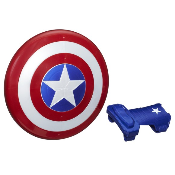Avengers - Captain America Magnetic Shield and Gaunlet (B9944)