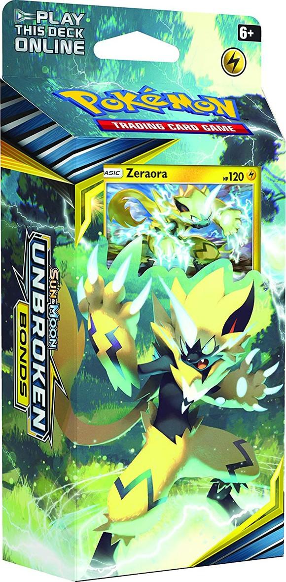 Pokémon - Sun & Moon 10 - Unbroken Bonds Themepack - Zeraora (POK80554B)