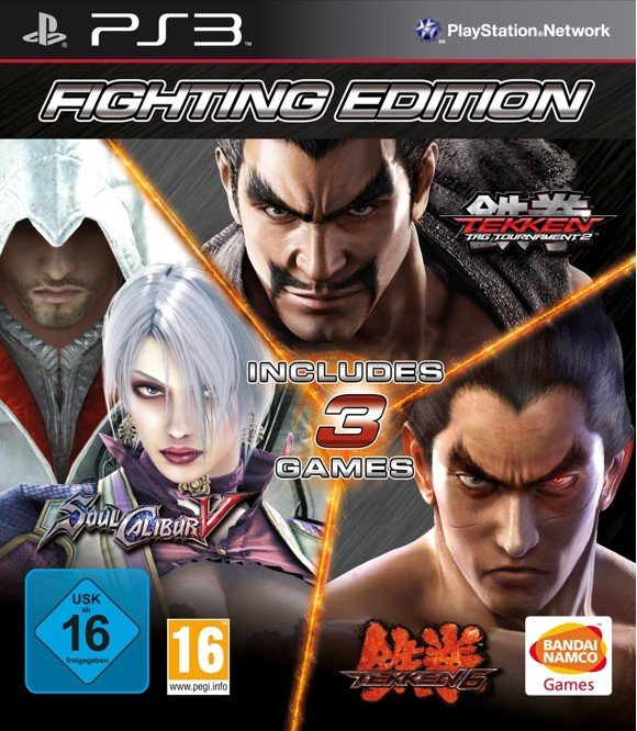 Fighting Edition:  Tekken 6 + Tekken Tag Tournament 2 + Soul Calibur V (5)