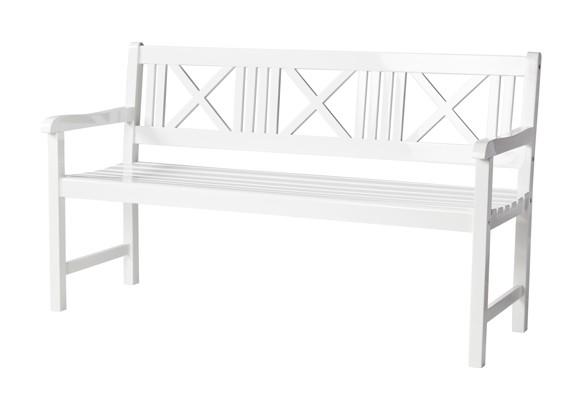 Cinas - Rosenborg Bench 150 cm - White (4501010)