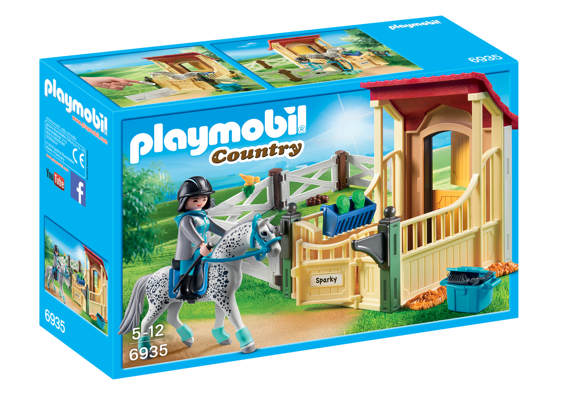 Playmobil - Horse Stable with Appaloosa (6935)