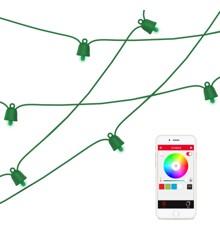 MIPOW Playbulb String green 10m RGB BT 40pcs led 4W IP65