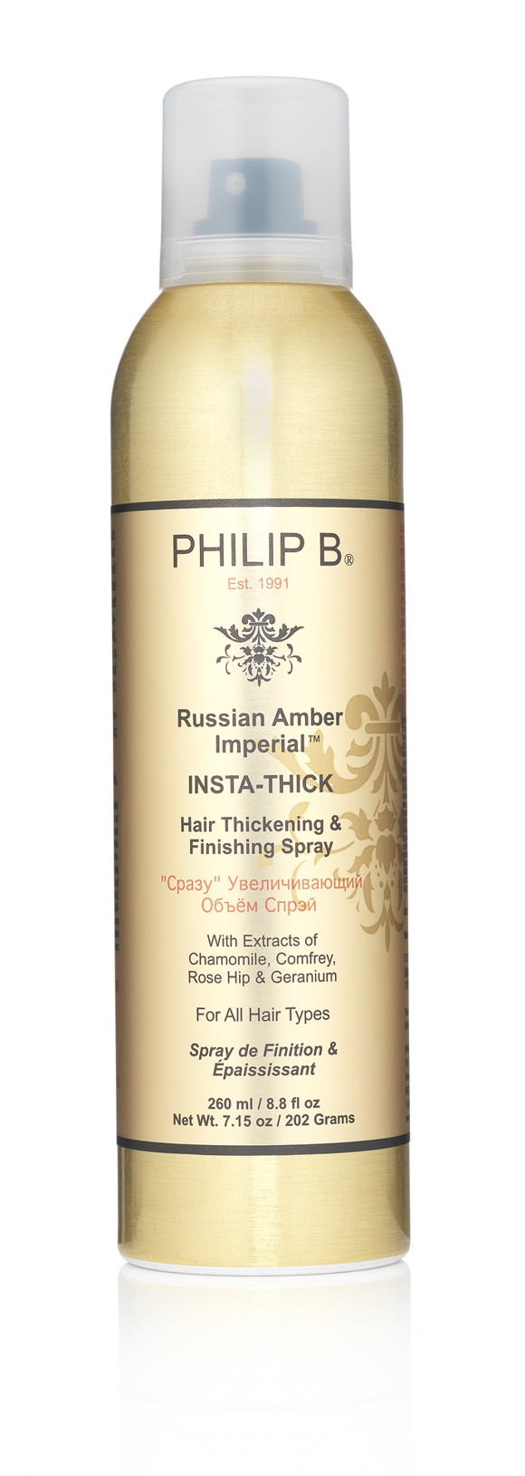 Philip B - Russian Amber Imperial Insta-Thick Spray 260 ml