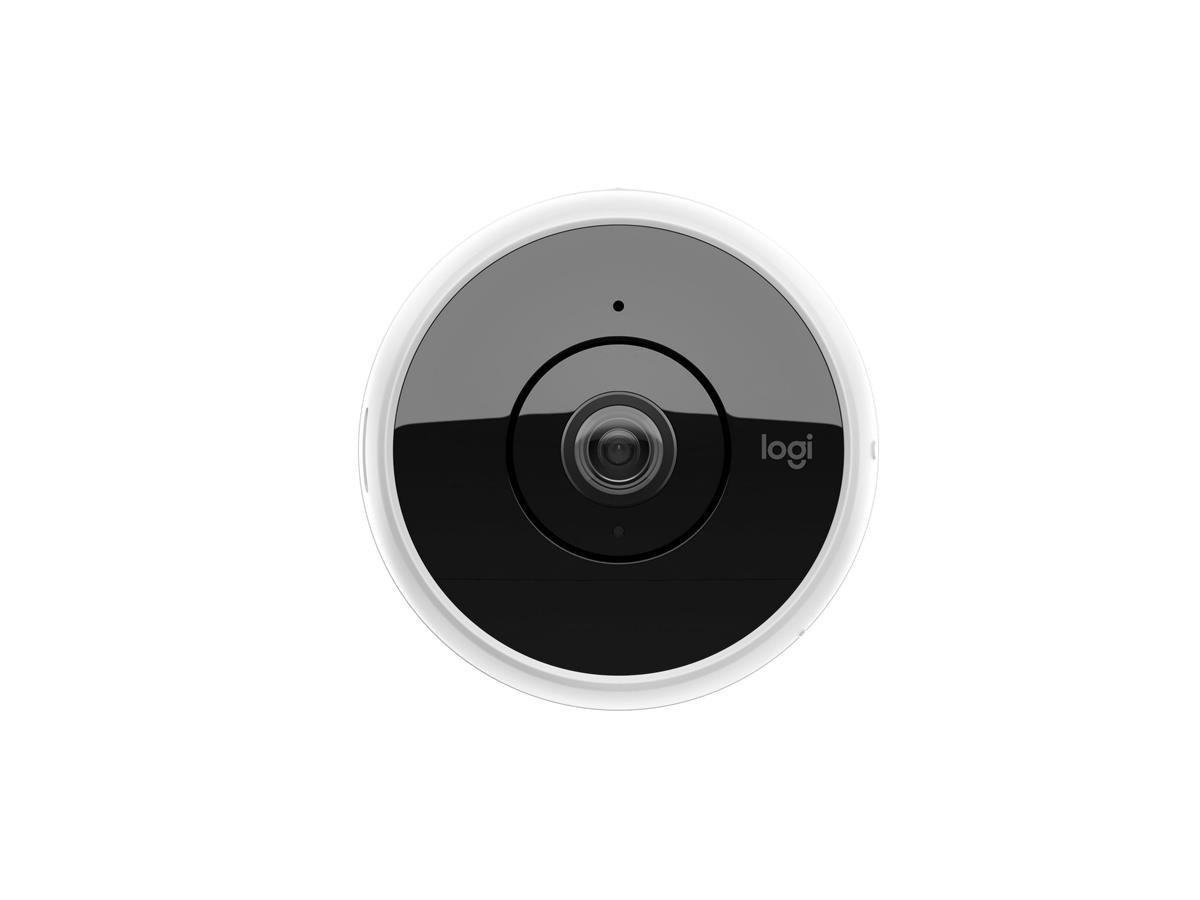 White NEW Logitech Circle 2 Wi-Fi Home Security Indoor//Outdoor Camera 1080p