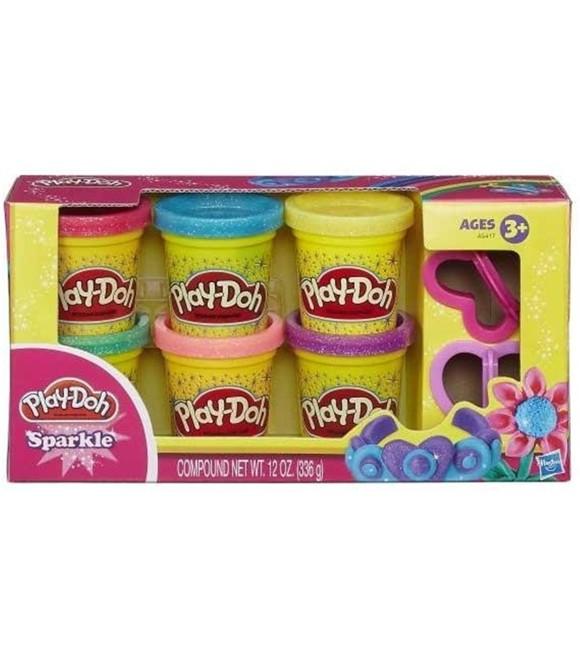 Play-Doh - Glitter Modellervoks