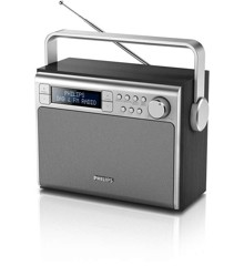 Philips - Transportable  DAB+ Radio AE5020 Sort
