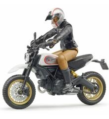Bruder - Ducati Scrambler Desert Sled kuskilla (BR63051)