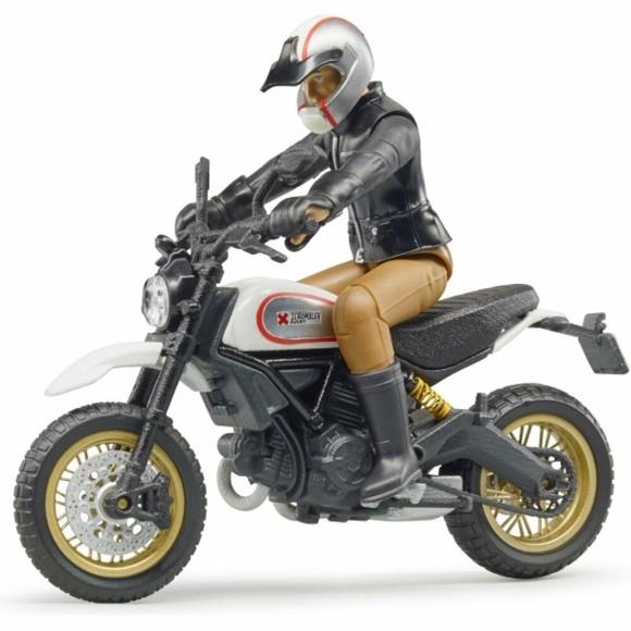 Bruder - Ducati Scrambler Desert Sled Motorcykel (BR63051)