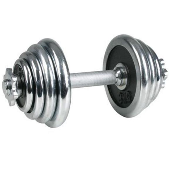 Avento Chrome-plated Dumbbell 15 kg 41HD