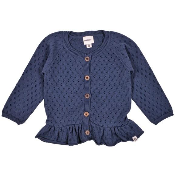 PAPFAR - Needledrop Girls Knit Cardigan