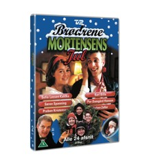 Brdr.Mortensens Jul Nr.1-24 Dvd