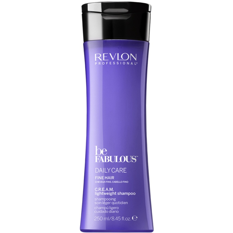 Revlon - Be Fabulous Cream Shampoo Fine Hair 250 ml