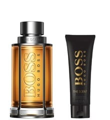 Hugo Boss - The Scent - Edt 200 ml + After shave balm 75 ml - Gavesæt