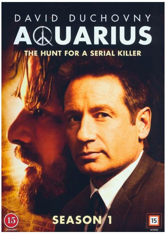 Aquarius: Sæson 1 (4-disc) - DVD