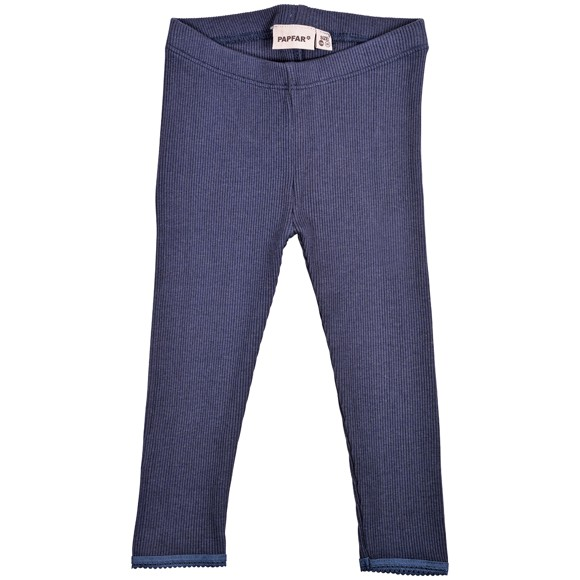 PAPFAR - Rib Pige Leggings