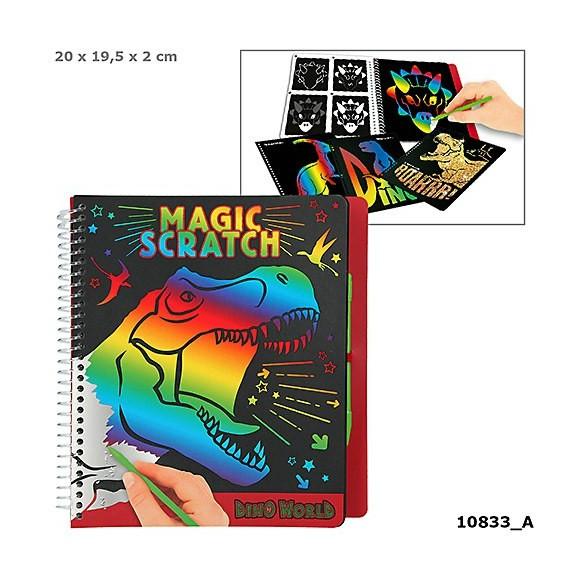 Dino World - Magic Scratch Book (0410833)
