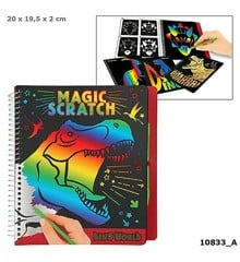 Dino World - Magic Scratch Book